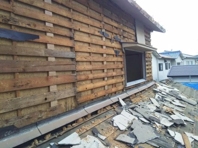 2017年9月20日岡山市北区下伊福解体工事