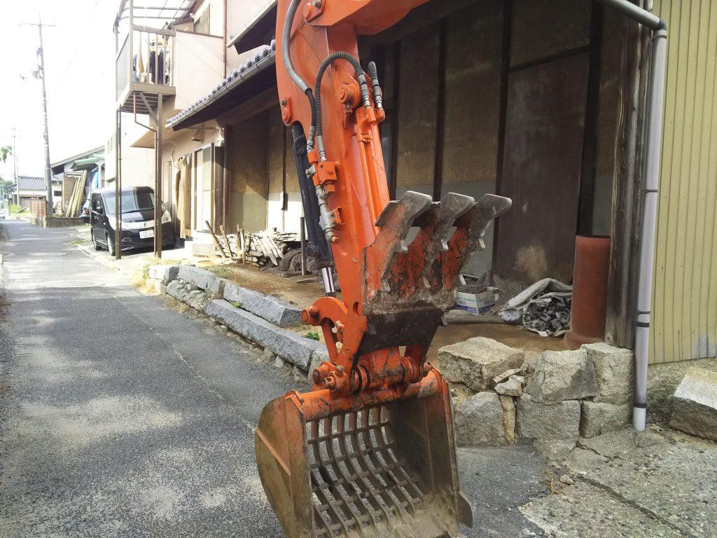 2017/9/15 倉敷市玉島 工事